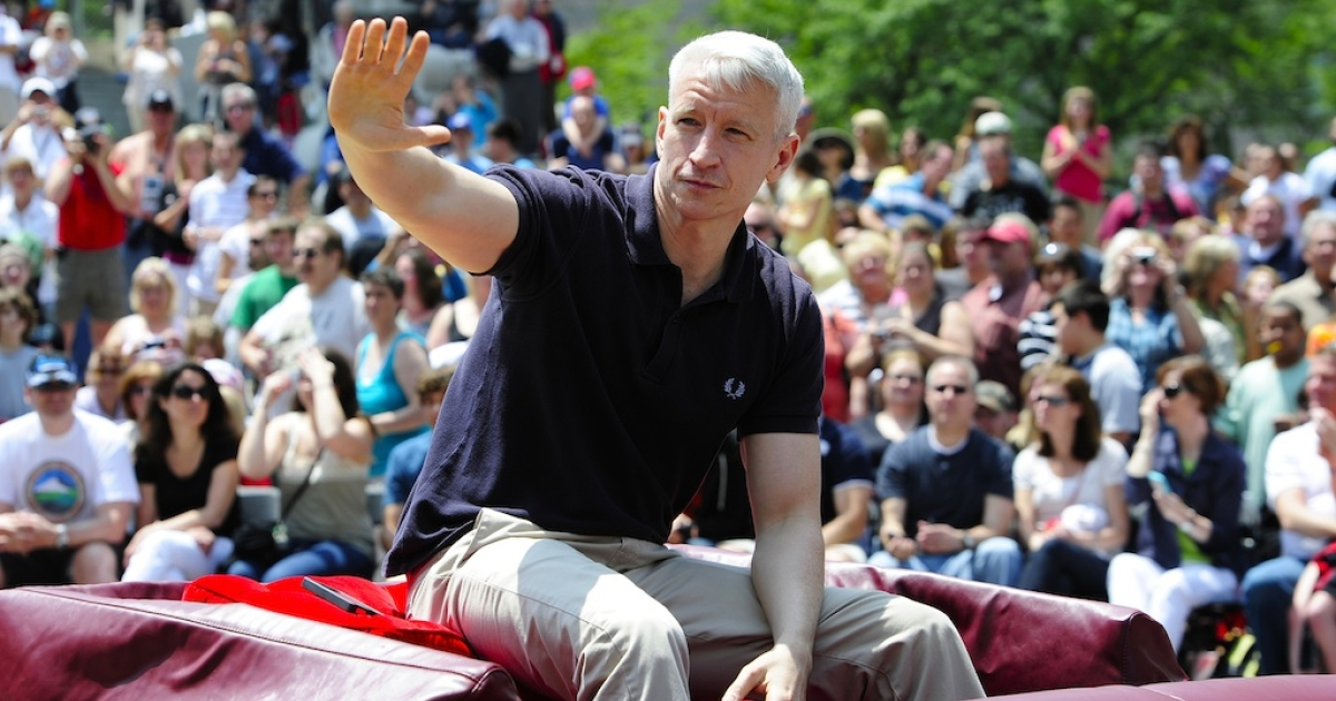Anderson Cooper will say goodbye to his talk show in 2013.</p>