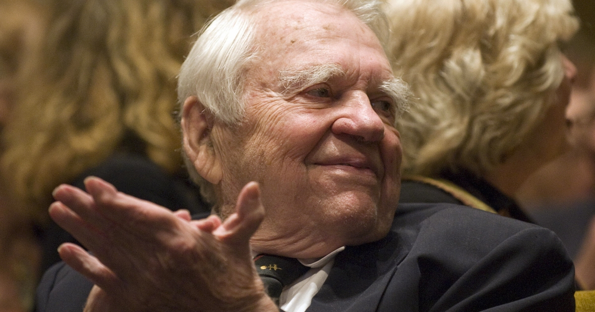 Andy Rooney, '60 Minutes' commentator, has died. He was 92.</p>
