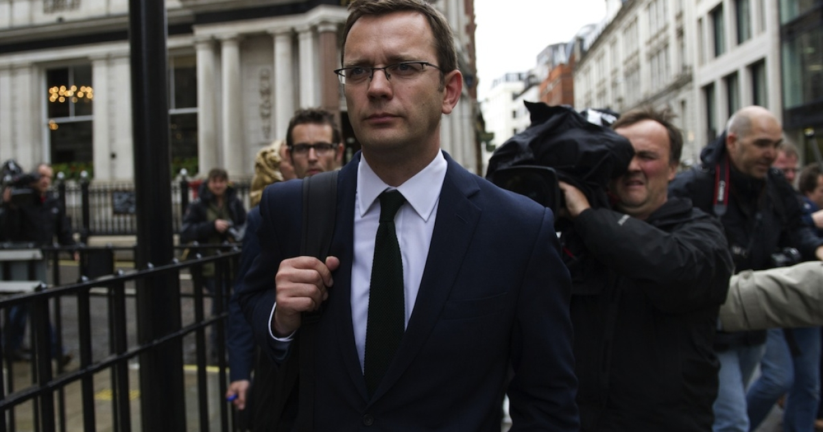 Andy Coulson, former editor of News of the World, is being detained for questioning about his testimony in the perjury trial of socialist politician Tommy Sheridan.</p>