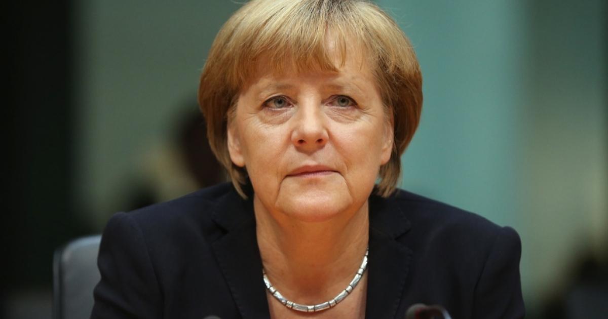 German Chancellor Angela Merkel on September 27, 2012 in Berlin, Germany.</p>