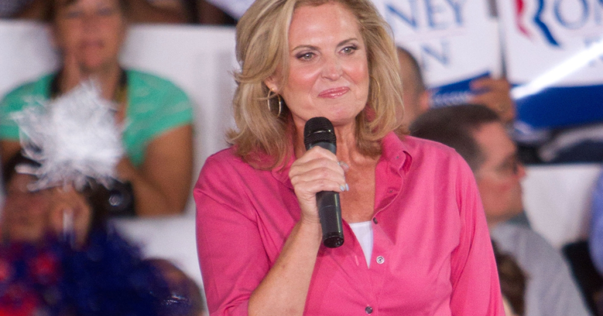 Ann Romney, wife of Republican presidential candidate Mitt Romney, will guest-host ABC's 'Good Morning America.'</p>