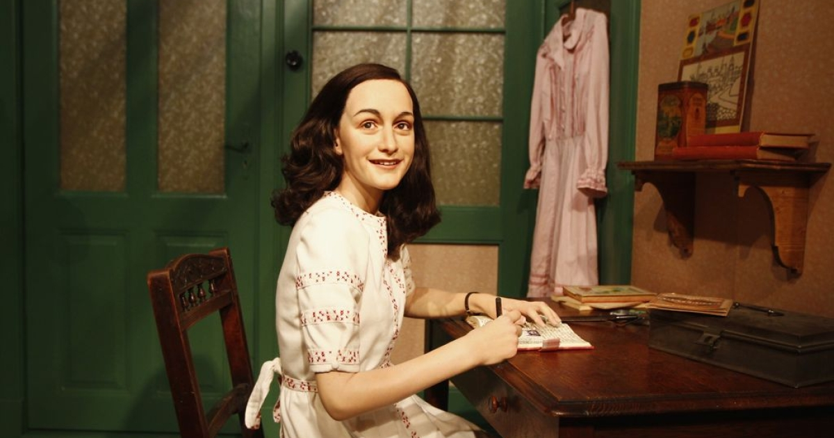 The Berlin branch of Madame Tussauds unveiled its new Anne Frank exhibit on March 9, 2012.</p>
