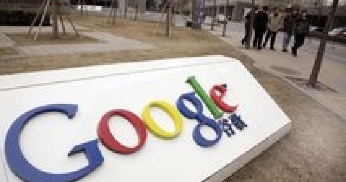 In this photo taken Monday, March 22, 2010, Chinese men walk past the Google China headquarters in Beijing, China.  Google Inc. stopped censoring the Internet for China by shifting its search engine off the mainland Monday but said it will maintain other operations in the country. The maneuver attempts to balance Google's disdain for China's Internet rules with the company's desire to profit from an explosively growing market. (AP Photo/Ng Han Guan)</p>