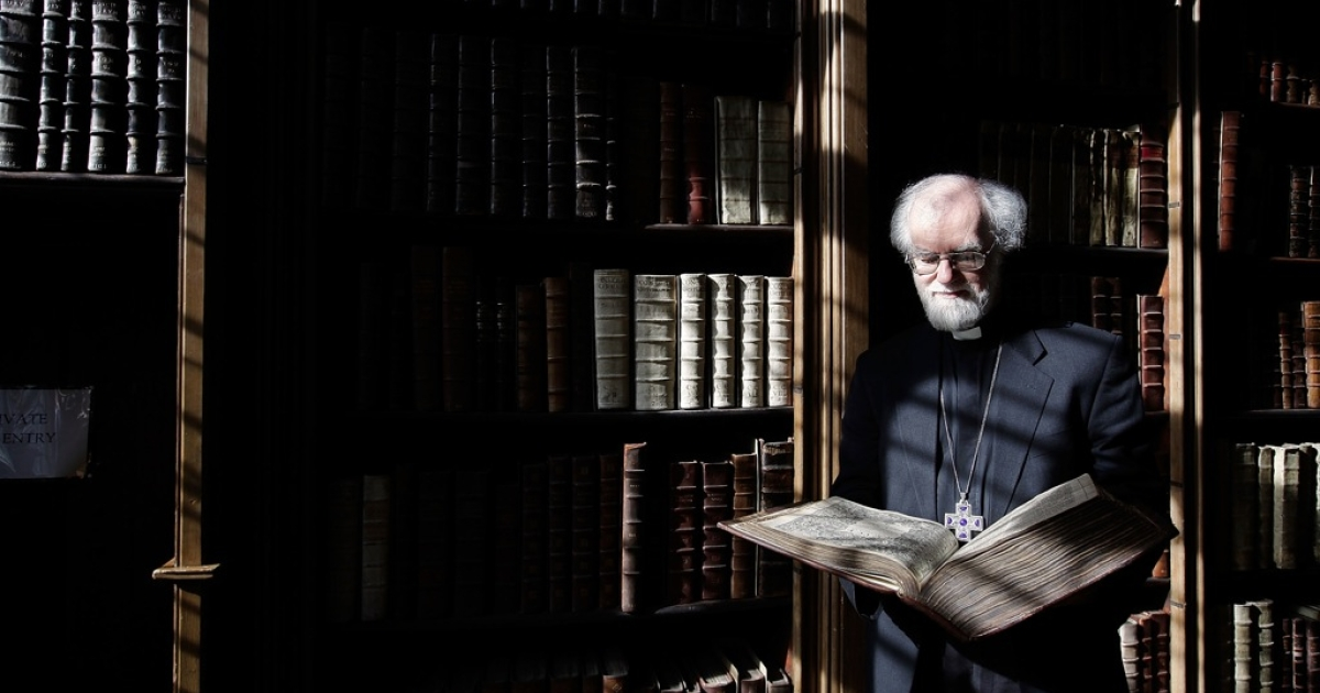 More scholar than back-room politician, Rowan Williams, Archbishop of Canterbury, resigned today.  He will become Master of Magdalene College, Cambridge</p>