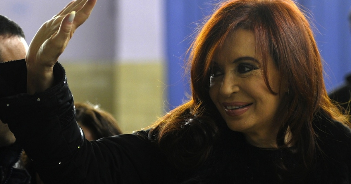 Argentine President Cristina Fernandez de Kirchner was elected in 2007 after her husband Nestor Kirchner died. While he was president, some referred to the couple as the