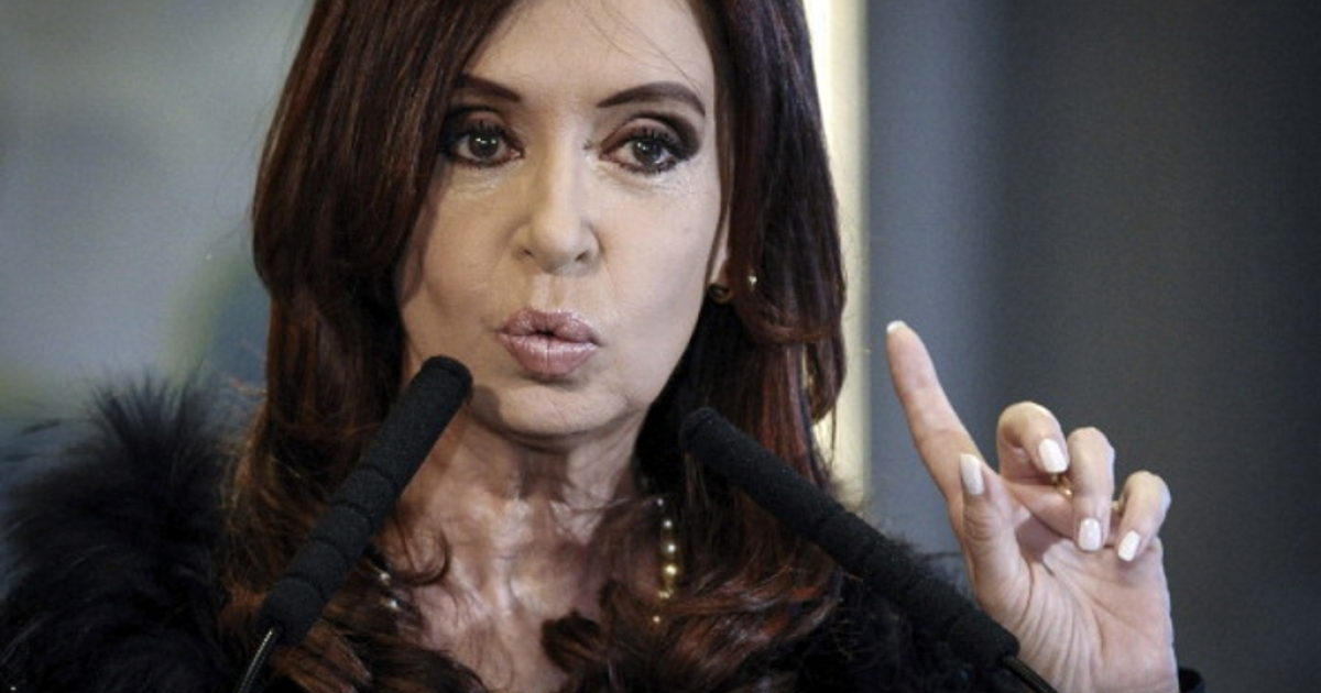 President of Argentina Cristina Fernandez de Kirchner speaks in late August to announce the creation of a development center for the national audiovisual industry.</p>