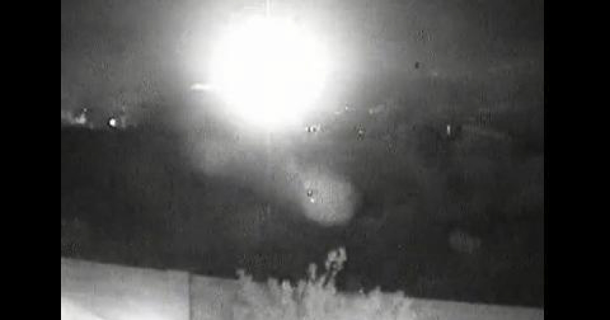 Six people, including three children, were killed in a plane crash November 23, 2011 in Arizona's Superstition Mountains, near Phoenix. Video footage from a security camera at the base of the mountains shows a fireball from the crash.</p>