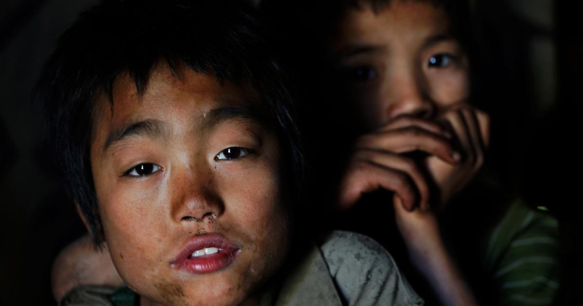 Digaru Mishmi children. Anjaw district, Arunachal Pradesh, India.</p>