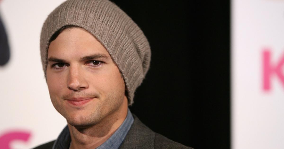 Ashton Kutcher arrives at the premiere of