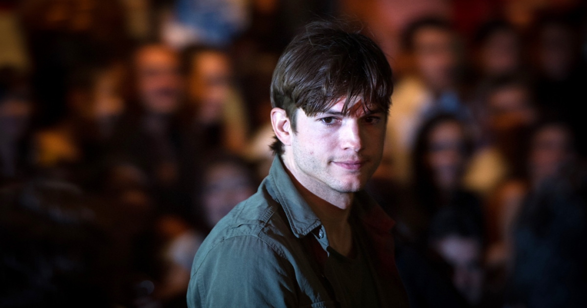 Actor Ashton Kutcher is in Israel for a three day visit to meet with tech startups.</p>