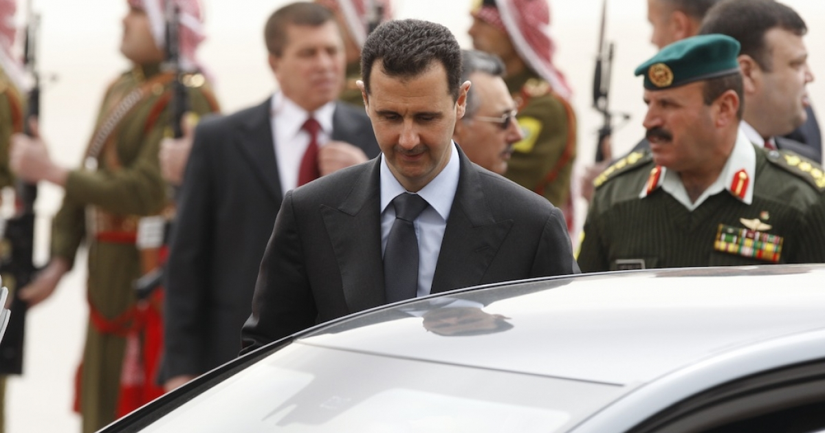 Embattled Syrian President Bashar al-Assad has made his first public appearance since July, for Eid prayers.</p>