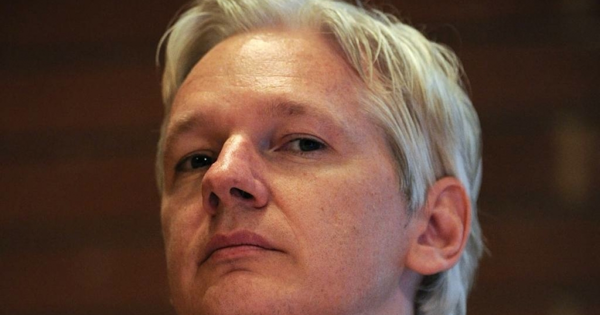 Bids for lunch at a fancy London restaurant with Wikileaks founder Julian Assange began Monday on Ebay at $568.</p>