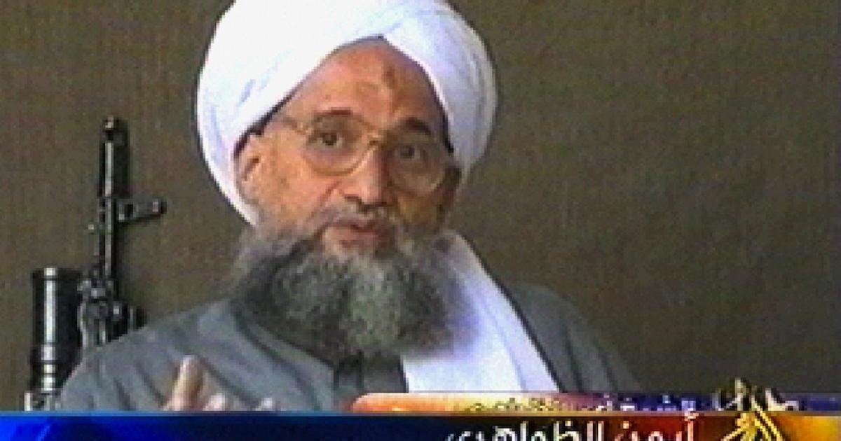 A screen grab taken on July 6, 2006 from al-Jazeera shows Al Qaeda's second-in-command Ayman al-Zawahri.</p>