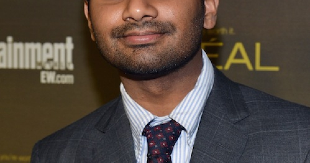 WEST HOLLYWOOD, CA - SEPTEMBER 21: Aziz Ansari attends The 2012 Entertainment Weekly Pre-Emmy Party Presented By L'Oreal Paris at Fig &amp; Olive Melrose Place on September 21, 2012 in West Hollywood, California.</p>