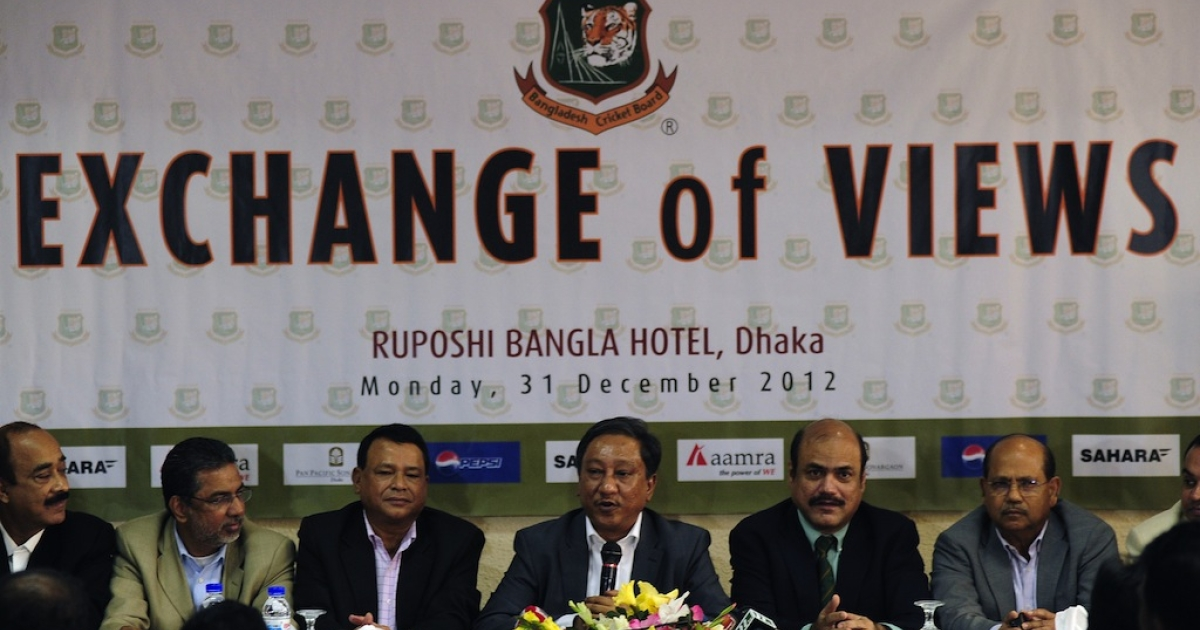 The Bangladesh cricket board canceled its Pakistan tour, saying it was too dangerous on Dec. 31, 2012.</p>