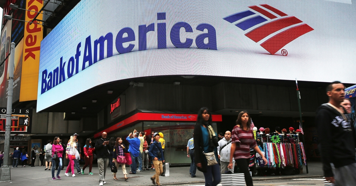The US government sued Bank of America on Oct. 24, 2012 for $1 billion over allegedly bad loans sold to Fannie Mae and Freddie Mac.</p>