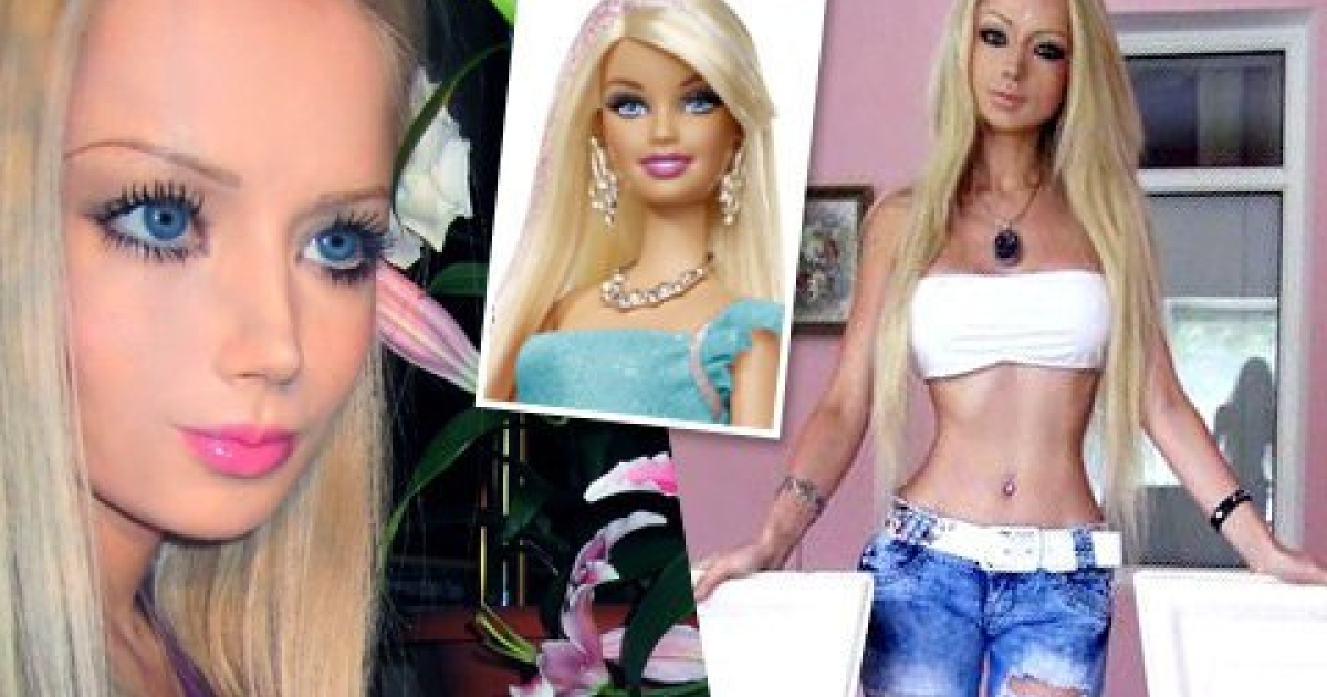 Nobody seems to know if Valeria Lukyanova, 21, has managed to become a human Barbie doll through heavy make-up, plastic surgery, Photoshop or somebody's rich imaginary life.</p>