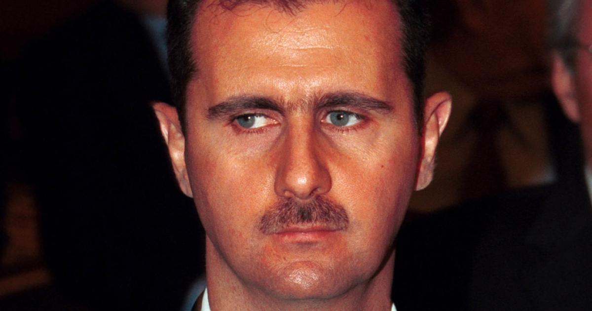 Syrian President Bashar al Assad. (Photo by Salah Malkawi/Newsmakers)</p>