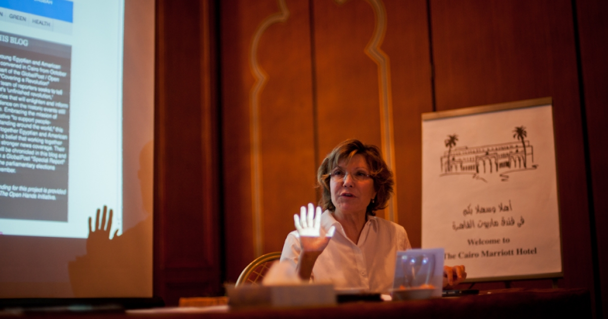 NPR Middle East correspondent Deborah Amos speaks to the GlobalPost / Open Hands Initiative