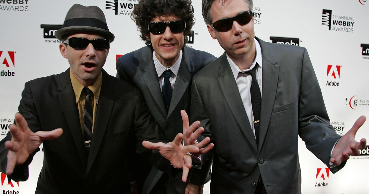 The Beastie Boys arrive at the 11th Annual Webby Awards at Chipriani Wall Street on June 5, 2007 in New York City.</p>