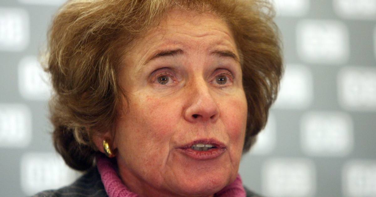 "Beate Klarsfeld shot to fame in November 1968 when she invaded the stage at the Christian Democratic Union party conference and slapped then-German Chancellor Kurt Georg Kiesinger, shouting ""Nazi! Nazi! Nazi!"" in reference to Kiesinger's past role as a functionary in Joseph Goebbels' propaganda ministry.</p>"