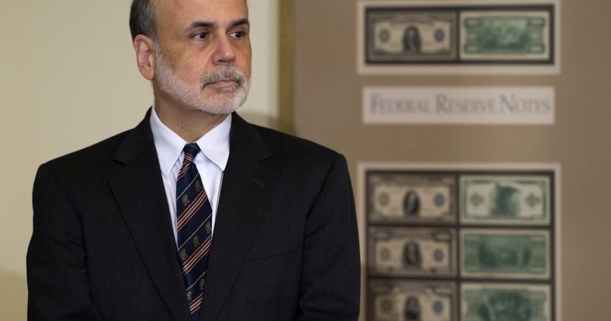Federal Reserve Chairman Ben Bernanke.</p>