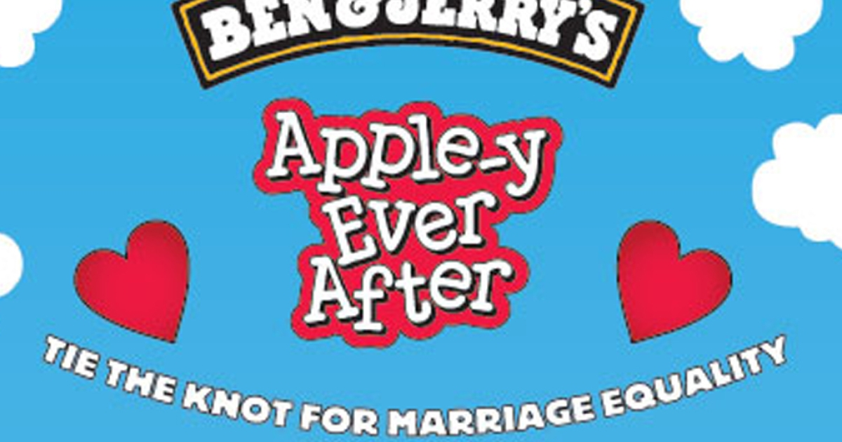The Ben and Jerry's UK Facebook page urges users to get