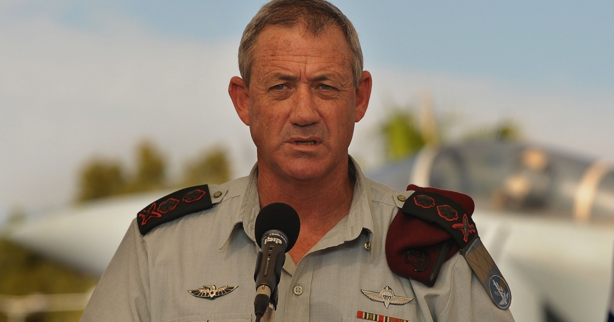 """The State of Israel is the strongest in the region and will remain so,"" Chief-of-Staff-Lt Gen Benny Gantz said.  ""Decisions can and must be made carefully, out of historic responsibility but without hysteria.""</p>"