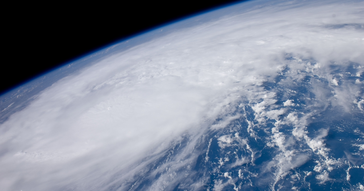 Recently-formed Hurricane Irene is seen August 22, 2011 over the coastal waters of Venezuela. At  the time Irene was packing winds of 80mph and was just north of the Mona  Passage between Hispaniola and Puerto Rico.</p>