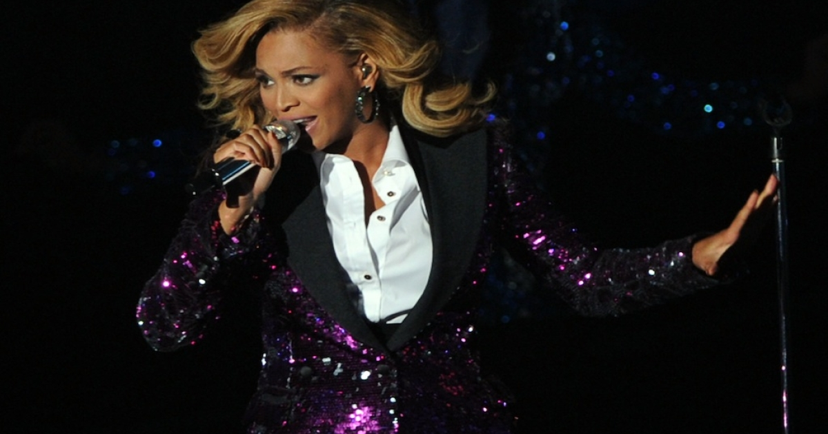 Beyonce performs onstage during the 2011 MTV Video Music Awards at Nokia Theatre L.A. LIVE on August 28, 2011 in Los Angeles, California.</p>