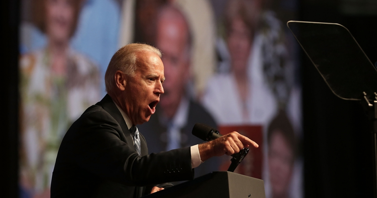 Vice President Joe Biden addressed the NAACP and rallied support for President Barack Obama on July 12, 2012.</p>