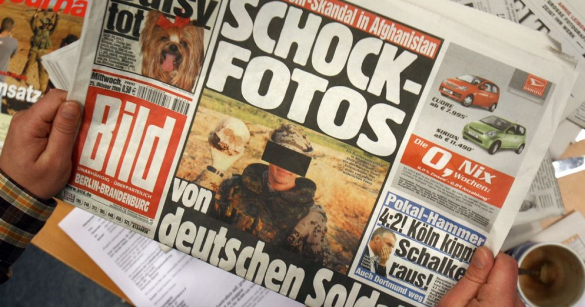 Bild's front page has featured topless women since 1984. The pictures will no longer appear on page 1.</p>