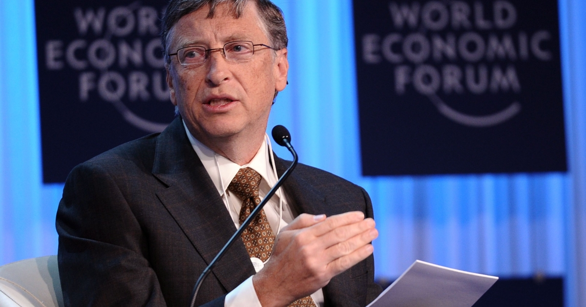 "Speaking in Davos, Switzerland at the World Economic Forum's annual meeting, Gates called on governments to continue their support for saving lives, saying ""these are tough economic times, but that is no excuse for cutting aid to the world's poorest.""</p>"