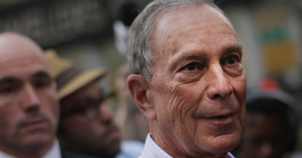 New York Mayor Michael Bloomberg in New York City on Oct. 10, 2011.</p>