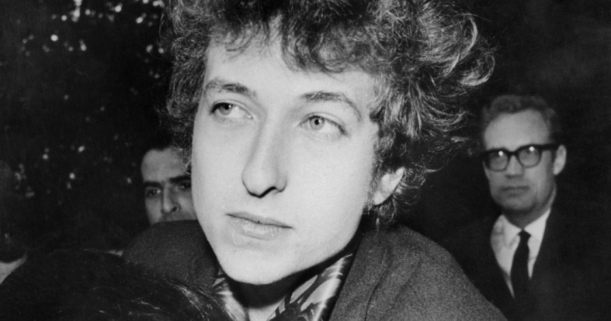 U.S. singer Bob Dylan in March 1966 in New York.</p>