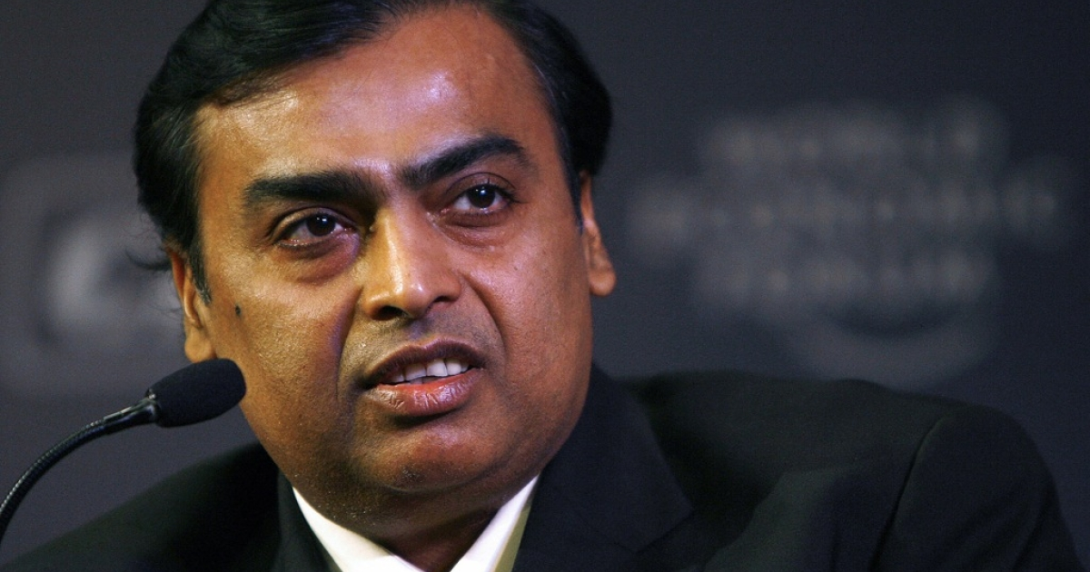 Mukesh Ambani, the chairman and managing director of Reliance Industries, is one of India's 'Bollygarchs', a new class of international elites.</p>