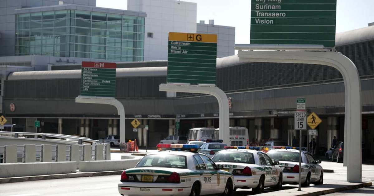 Paulo Morales, 47, pleaded guilty in federal court to three civil rights offenses for groping the breasts of three women at Miami International Airport.</p>
