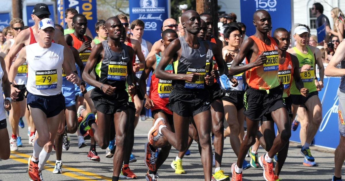 Ethiopia and Kenya kept their Boston Marathon winning streaks alive, capturing the men's and women's titles in the 177th edition of the race on April 15, 2013.</p>