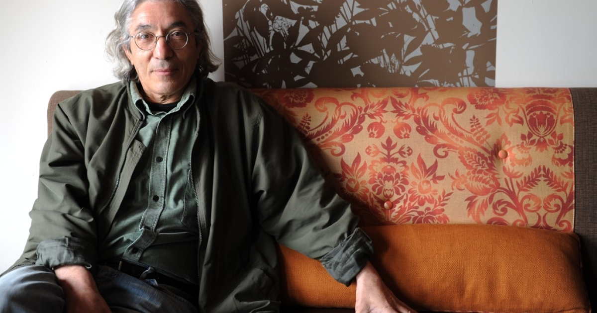 Algerian author Boualem Sansal poses in Los Angeles, Calif. on May 15, 2010.</p>