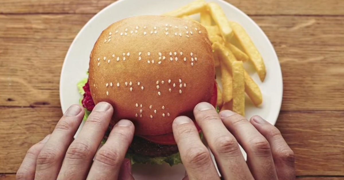 A screengrab from the Wimpy burger chain commercial created by ad agency Metropolitan Republic South Africa.</p>