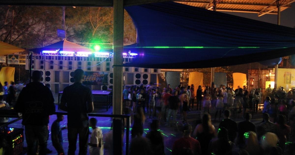 A baile funk in Rio.</p>