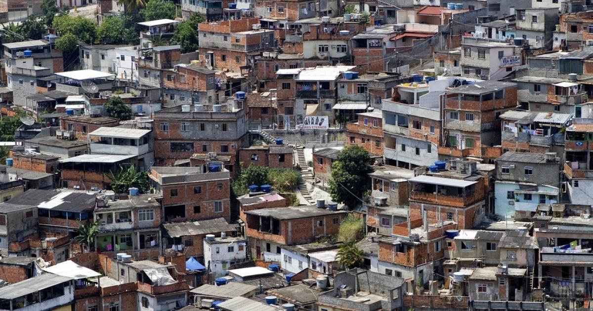 The Morro do Alemao shantytown in Rio de Janeiro, on Nov. 29, 2010.</p>