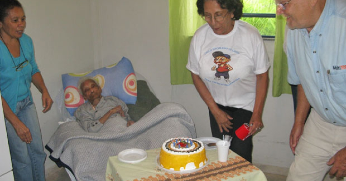 At 116 years old, Dona Sebastiana of Resende, Brazil is reported to be the world's oldest woman.</p>