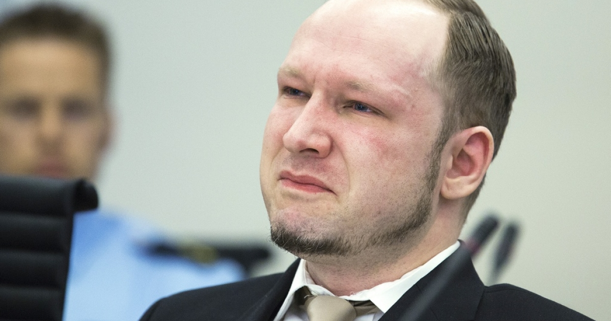 Breivik weeps in court — over a propaganda film he made.</p>