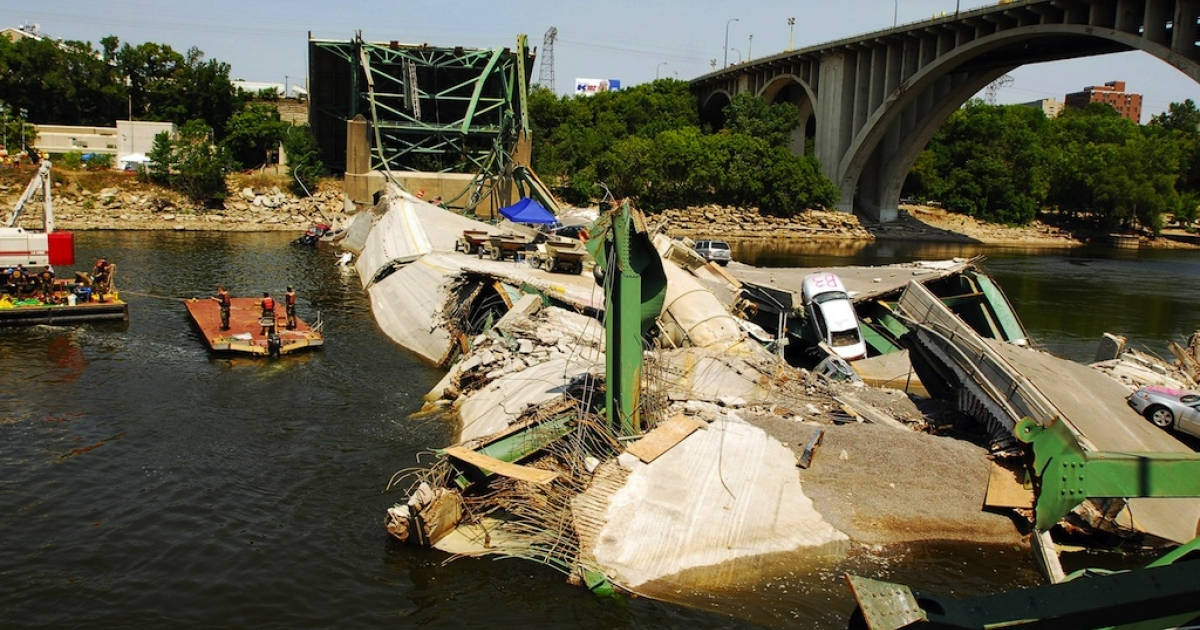 Some of America's bridges need a little love. Structural deficiency can lead to disaster.</p>