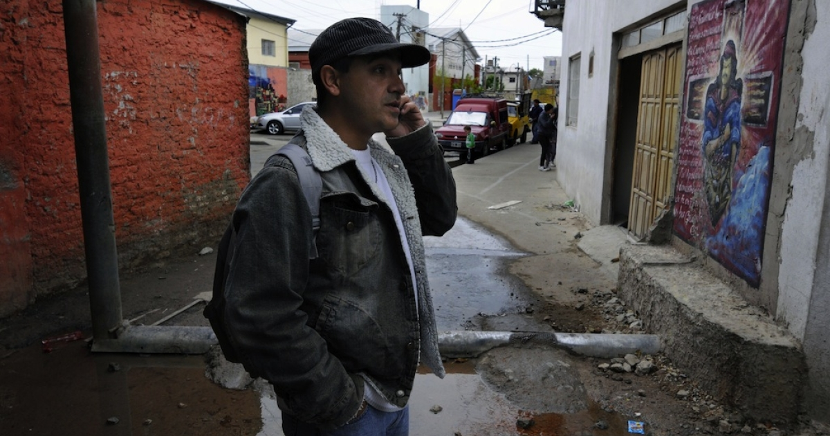 Villa 21 shantytown in Buenos Aires, on Oct. 4, 2011.</p>