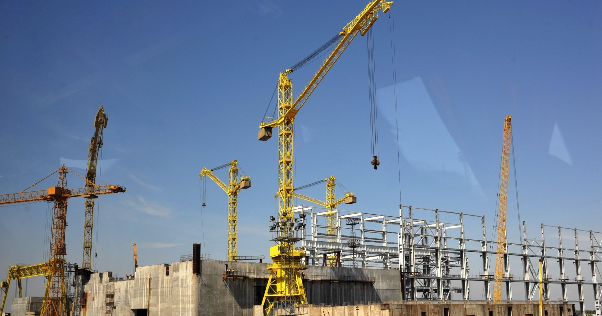 Construction of the Belene power plant is already well under way.</p>