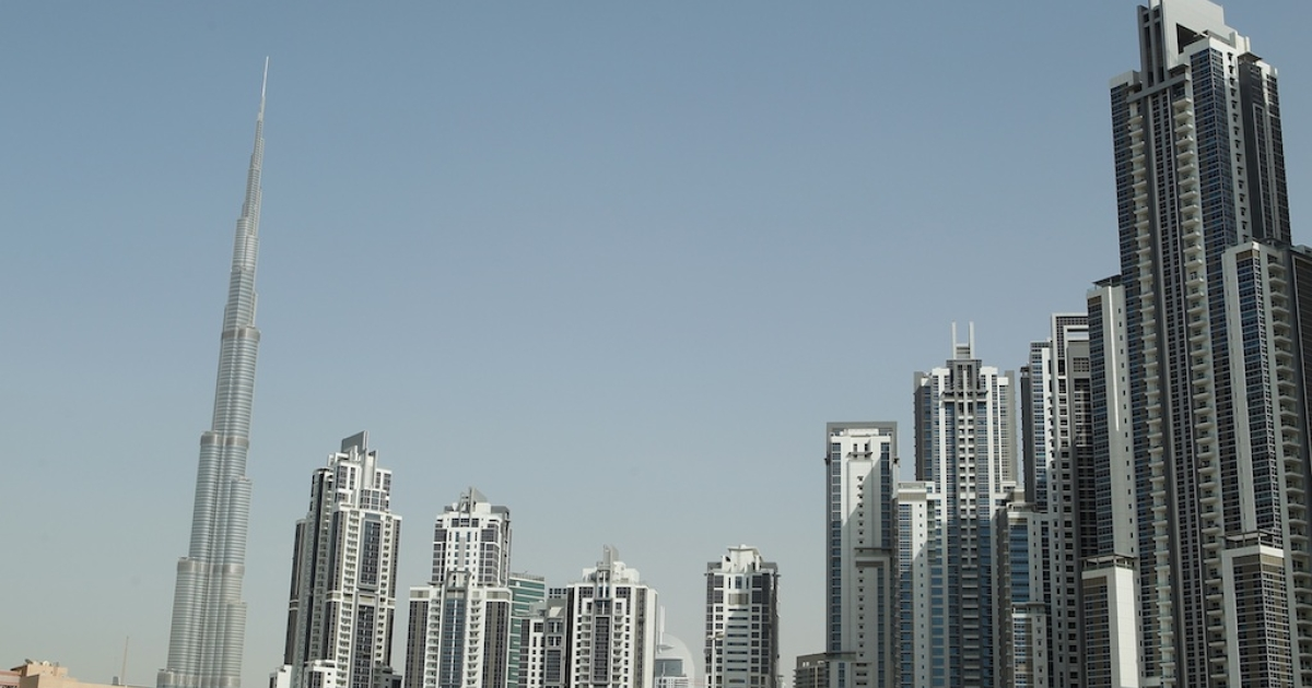 The Burj Khalifa, currently the world's tallest building, pictured here in Dubai, United Arab Emirates. China's Sky City will be 10 meters taller than the Burj.</p>