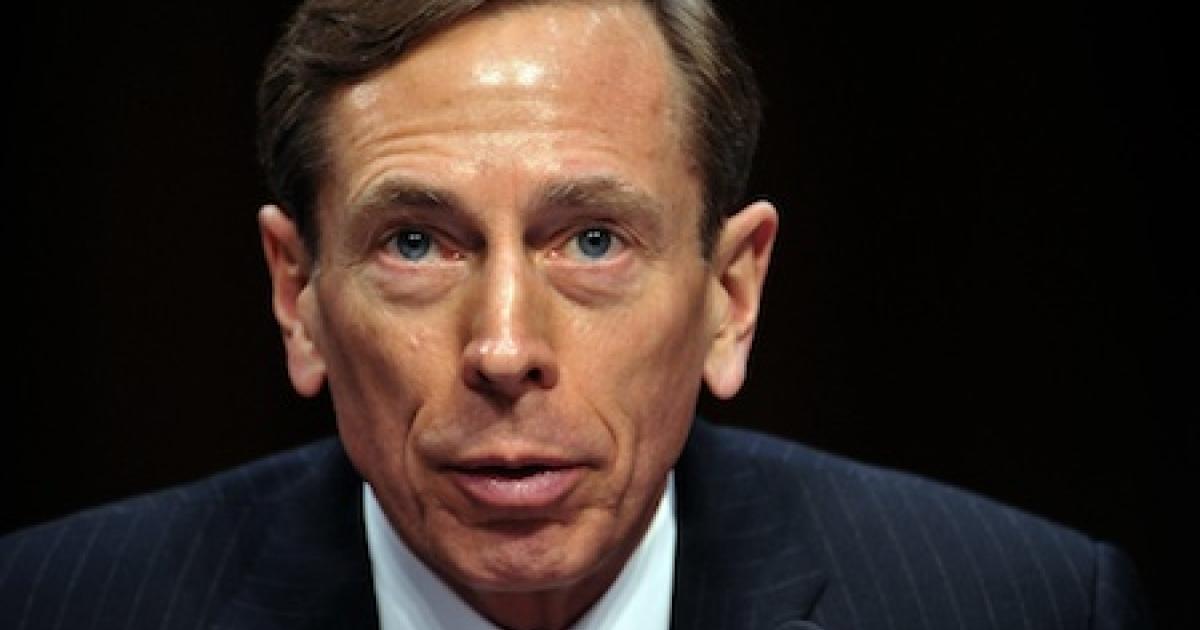 CIA Director David Petraeus</p>