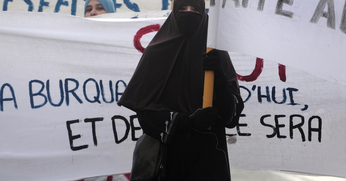 Many Muslim women hoped the ban on traditional face-covering veils would be overturned when Hollande took office. However, it doesn't look as though changing the law is on the horizon, despite rights groups saying it violates international law. Muslim women protested against the ban before it went into effect in 2011, like these women at a demonstration in Tours, France.</p>